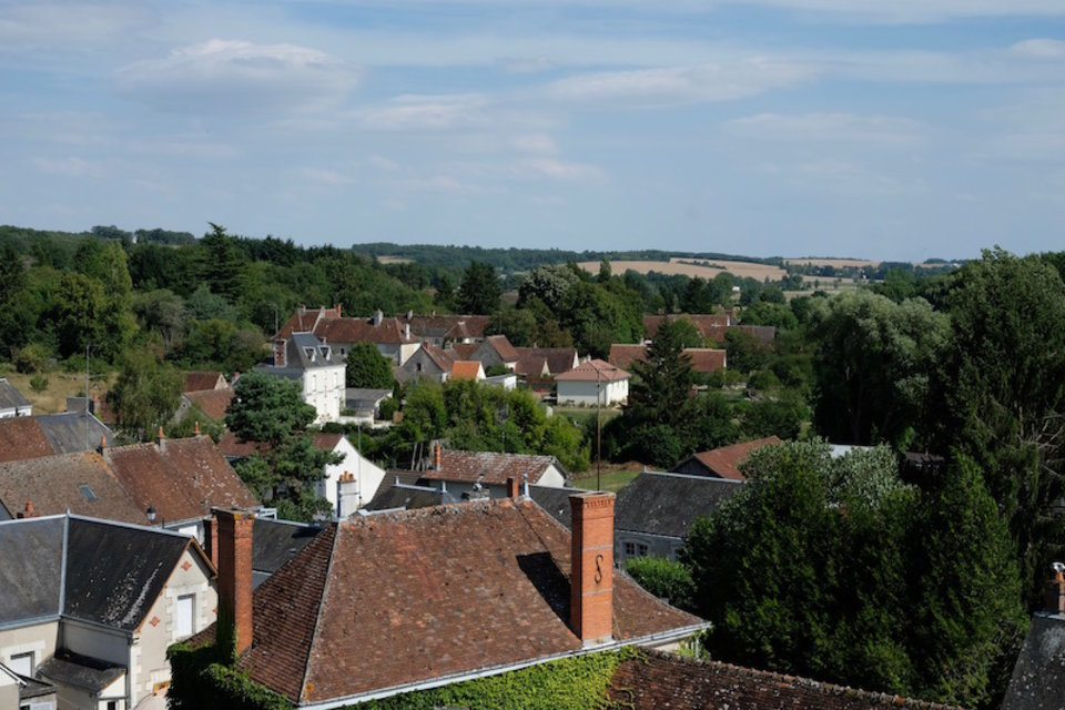 Panorama-Saint Germain-Loches Val de Loire